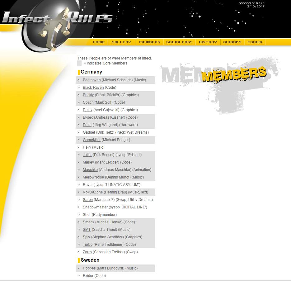 Website 2005 – kommt ins Archiv