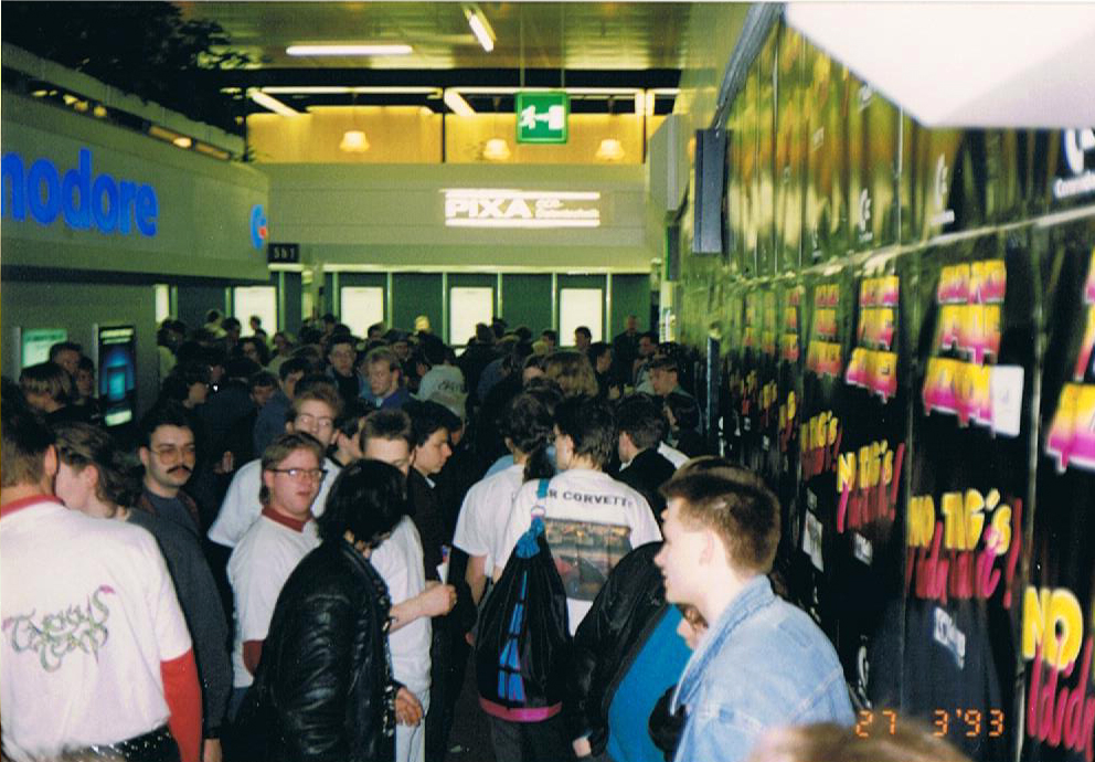Update CeBit 1993 – Fotos Jailer